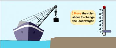 Корабль - подъёмный кран