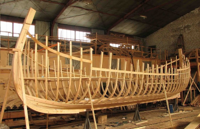 Как сделать деревянный киль парусника