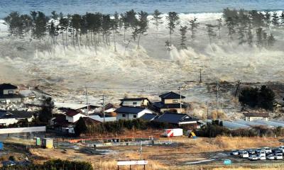 Как спастись от цунами