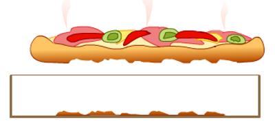 Повреждённая пицца при извлечении из коробки