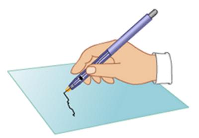 Определение места конфликта «карандаш – бумага»